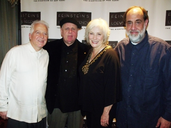 Billy Drews (Reeds/Percussion), Kenny Warner, Betty Buckley and Tony Marino (Bass)